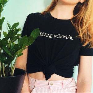 Define Normal Graphic Tee
